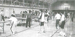 最近の卓球協会の大会風景